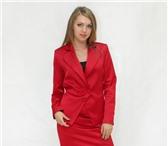 Foto в Одежда и обувь Женская одежда Продам пиджак красного цвета, из атласа. в Хабаровске 500