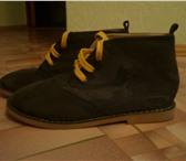 Фотография в Одежда и обувь Детская обувь новые ботинки на мальчика размер 34-36. Натуральная в Челябинске 1200