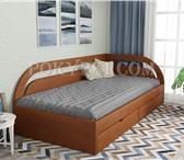 Foto в Мебель и интерьер Мебель для спальни Угловая кровать Арканзас из массива сосны в Москве 10000