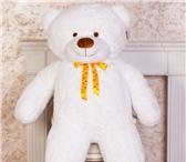 Фотография в Для детей Детские игрушки *Красивый пушистый белоснежный мишка Феликс в Перми 4000