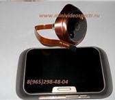 Изображение в Электроника и техника Видеокамеры Беспроводной видеоглазок с монитором и детектором в Самаре 5500
