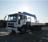 Foto в Авторынок Автогидроподъемник (вышка) Предлагаем к продаже борт-кран Daewoo Ultra в Владивостоке 0