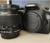 Изображение в Электроника и техника Фотокамеры и фото техника Фотоаппарат Canon EOS 1100D EF-S 18-55 IS в Москве 14000