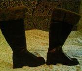 Изображение в Одежда и обувь Женская обувь Сапоги зимние р р 37на36   2000руб Нат кожа в Москве 2000