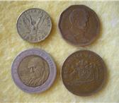 Foto в Хобби и увлечения Коллекционирование Продам четыре монеты республики Чили: 10 в Магнитогорске 0