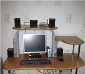 Фотография в Мебель и интерьер Столы, кресла, стулья Компьютерный стол,  цвет вишня,  3500 рублей, в Екатеринбурге 3500