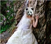 Фото в Одежда и обувь Свадебные платья Продам шикарное счастливое свадебное платье в Новосибирске 4000
