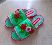 Фотография в Хобби и увлечения Разное вяжу на заказ комнатные тапочки и детские в Тольятти 450