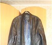 Изображение в Одежда и обувь Мужская одежда Продаю кожаную куртку р-р 50-52 цвет черный в Рыбинске 1500