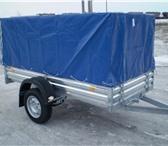 Изображение в Авторынок Легковой прицеп Прицеп бортовой для перевозки строительного в Мурманске 45000