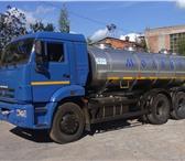 Фото в Авторынок Автоцистерна пищевая Молоковоз (водовоз) на шасси КАМАЗ 65115, в Ижевске 4250000