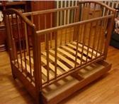 Фотография в Для детей Детская мебель Продаю детскую кроватку производства «Красная в Москве 2000