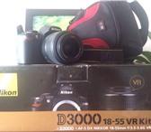 Фото в Электроника и техника Фотокамеры и фото техника Продаю СРОЧНО Nikon D3000 18-55 VR Kit.Отличный в Ростове-на-Дону 10000