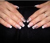 Foto в Красота и здоровье Салоны красоты делаю гелевое наращивание ногтей, покрытие в Астрахани 600