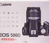 Фотография в Электроника и техника Фотокамеры и фото техника Продам зеркальный фотоаппарат Canon EOS 500D в Благовещенске 10000