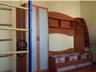 Фотография в Мебель и интерьер Мебель для детей Небольшой шкаф под одежду, кровать + матрац, в Иркутске 15000