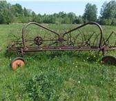 Foto в Авторынок Валкообразователи (грабли) Грабли в хорошем, рабочем состоянии.5 колес.Цена в Калуге 15000