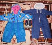 Изображение в Одежда и обувь Детская одежда Продам комбинезон и ботиночки из натуральной в Екатеринбурге 1500