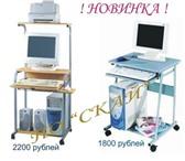 Фотография в Мебель и интерьер Столы, кресла, стулья Компьютерный стол на металлокаркасе производства в Омске 2000