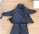 Foto в Одежда и обувь Детская одежда Куртка+полукомбинезо н.Цветсиний.Новый. Размер в Москве 2900