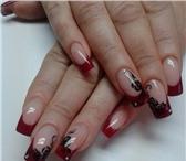 Foto в Красота и здоровье Косметические услуги * Наращивание ногтей гелем *, коррекция*, в Орске 600
