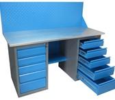 Фото в Мебель и интерьер Офисная мебель Верстаки металлические модульные для выполнения в Казани 5700