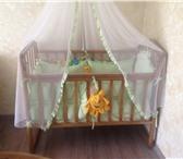 Фото в Для детей Детская мебель Кроватка в отличном состоянии + матрас (бортики в Туле 4500