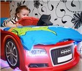 Foto в Для детей Детская мебель Предлагаем новую кроватку в форме машинки в Магнитогорске 12700