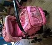 Изображение в Для детей Детские коляски Продам большую детскую красивую коляску со в Чебоксарах 2500