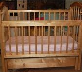 Изображение в Для детей Детская мебель Продается детская кроватка - маятник в отличном в Сочи 10000
