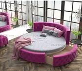 Фото в Мебель и интерьер Мебель для спальни «Аркада» - шикарная круглая кровать из массива в Москве 0