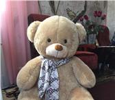 Фотография в Для детей Детские игрушки Медведь , мягкая игрушка, размер сидя около в Москве 1500